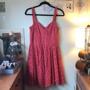 Coral BB Dakota Dress